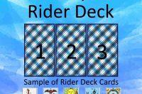 3 Card Spread Rider Deck